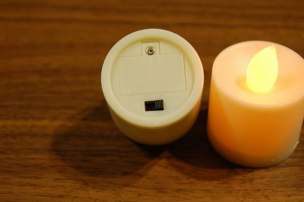 セリア LEDキャンドルライト スイッチ