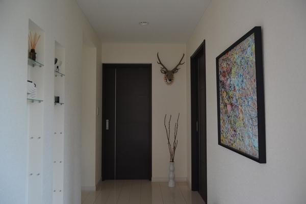玄関もプチ模様替え