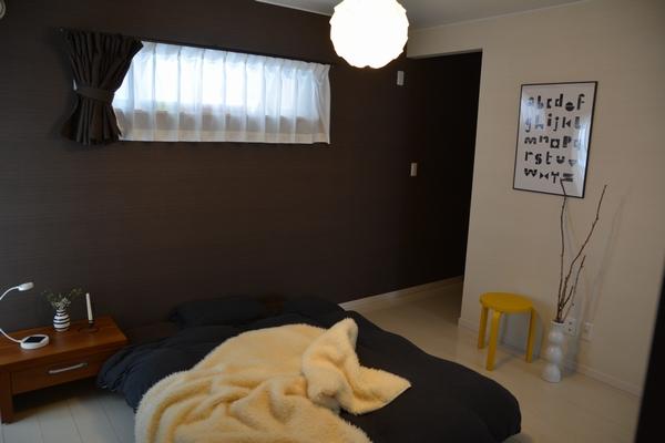 理想の寝室はこんな感じ