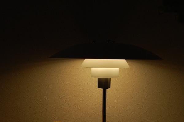 【北欧照明】ルイスポールセン LEDと白熱電球を比較してみました