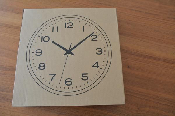 無印良品 アナログ時計・大 掛時計