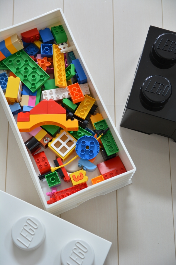 レゴ ストレージブリック 中にレゴ