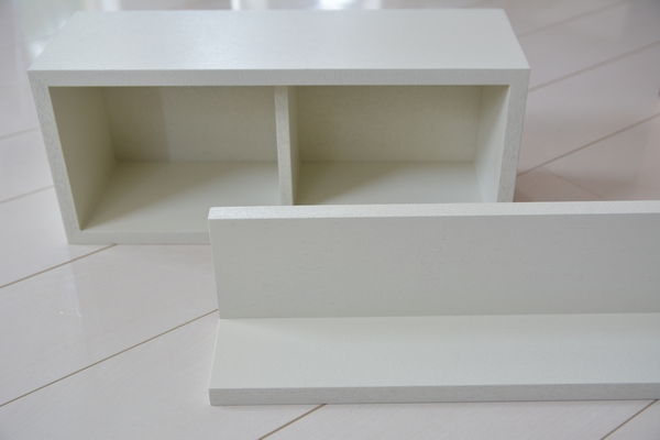 【MUJI】無印良品 壁に付けられる家具 ライトグレーに替えました