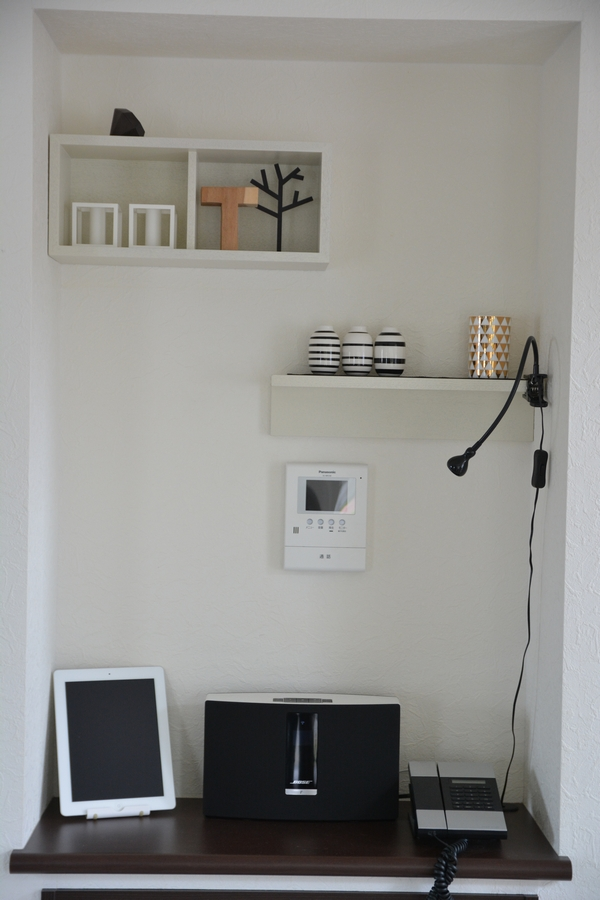 無印良品 壁に付けられる家具 ディスプレイ