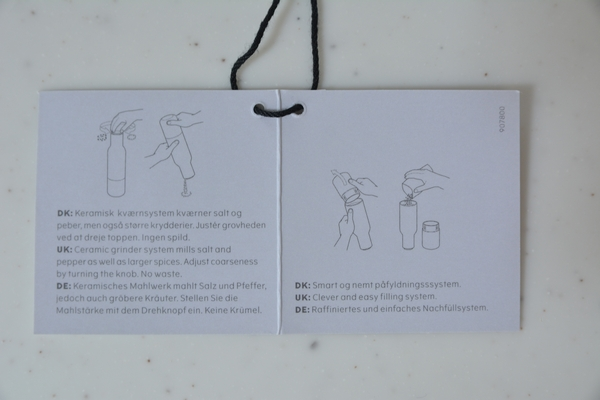 menu ボトルグラインダー 説明書