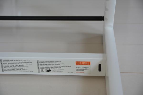 【北欧家具】二つ目のベビーチェアもストッケ トリップトラップ 色はホワイト