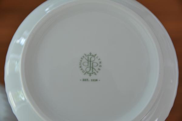 【北欧雑貨】大人気 リュンビュー ポーセリン フラワーベース Lyngby Porcelain
