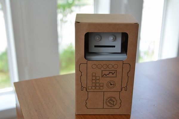 KG Design ロボット貯金箱 モダンでかわいい子供用北欧雑貨