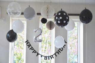 【北欧インテリア】誕生日デコ 2歳の誕生日はちょっと豪華になった?