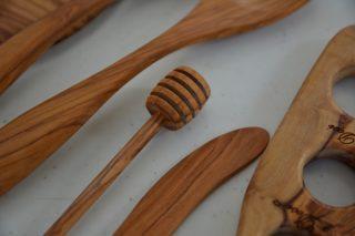 【キッチン雑貨】オリーブウッドのキッチンツールをお手入れ