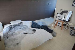 【北欧インテリア】かなり久しぶり!模様替えした寝室の様子
