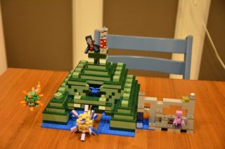【おもちゃ】マイクラレゴ 海底神殿を誕生日プレゼントに