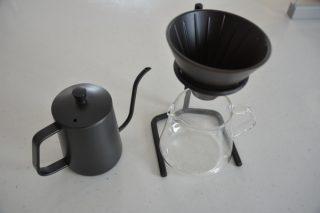 【コーヒー】KINTO/キントー ブリューワースタンドセットと理想のドリップポット